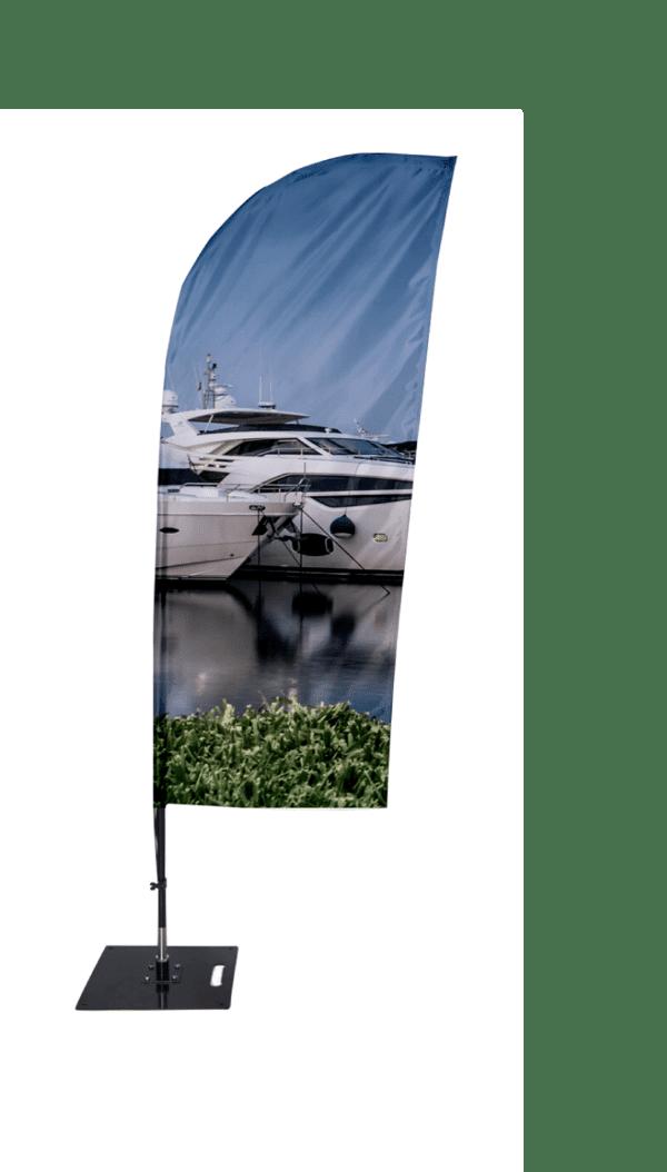 Banderola tipo vela surf (SMLXL)-BPH